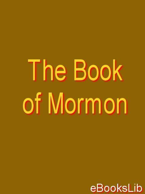 The Book of Mormon EB9781412146159