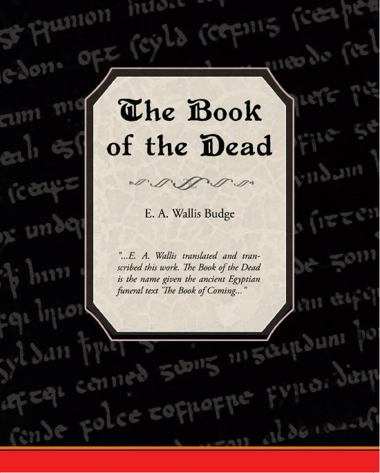 The Book of the Dead EB9781438549675