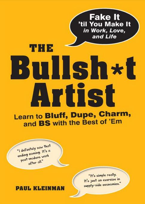 The Bullsh*t Artist EB9781440527241
