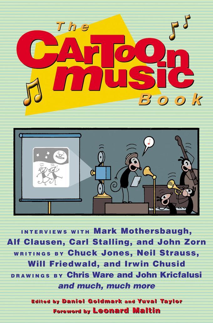 The Cartoon Music Book EB9781569764114