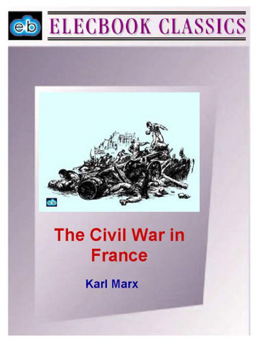 The Civil War in France EB9781843271017