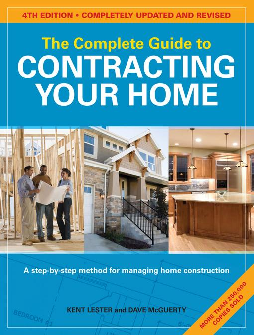 The Complete Guide to Contracting Your Home EB9781440309359