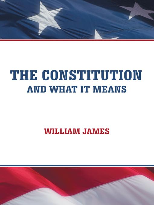 The Constitution and What It Means EB9781475934656
