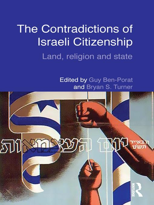 The Contradictions of Israeli Citizenship EB9781136727375