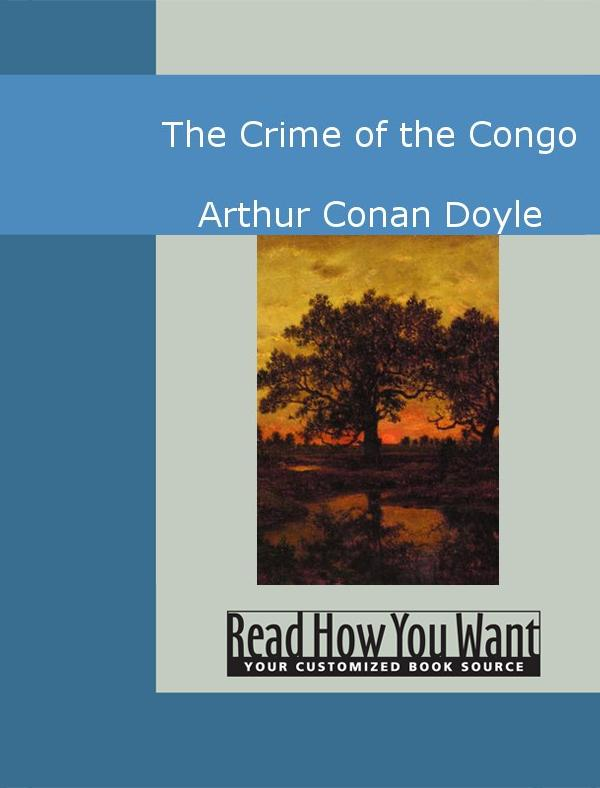 The Crime of the Congo EB9781442945487