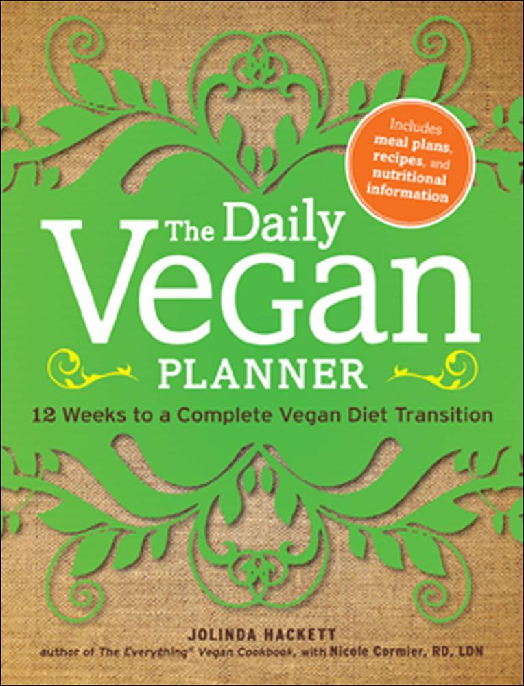 The Daily Vegan Planner EB9781440531248