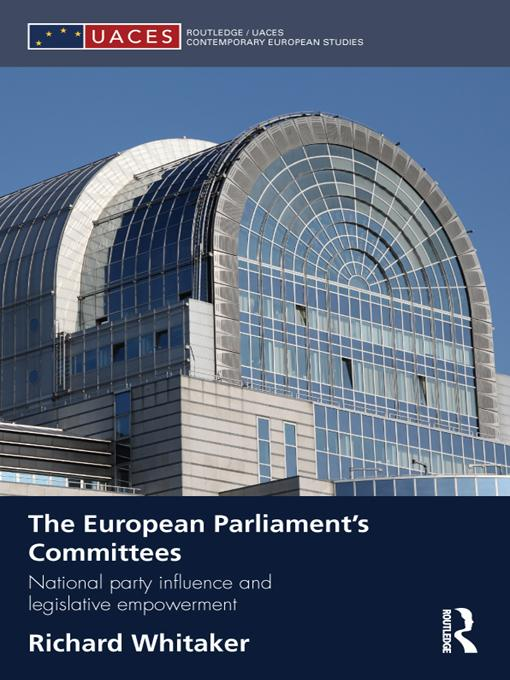 The European Parliament's Committees EB9781136742019