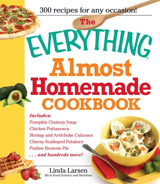 The Everything Almost Homemade Cookbook EB9781440521171