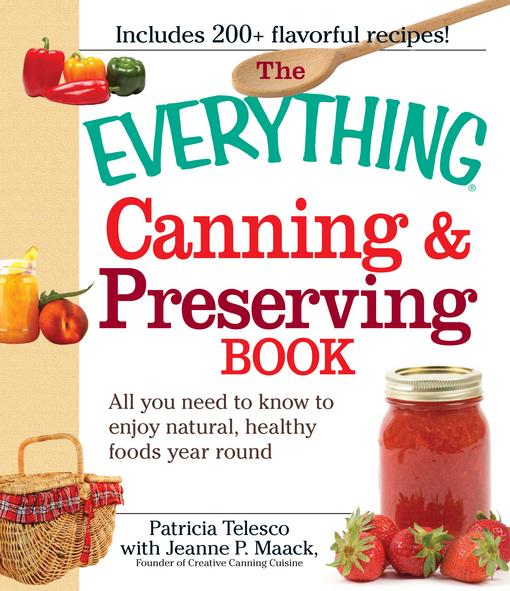 The Everything Canning and Preserving Book EB9781605507187