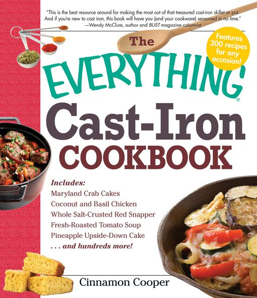 The Everything Cast-Iron Cookbook EB9781440502262