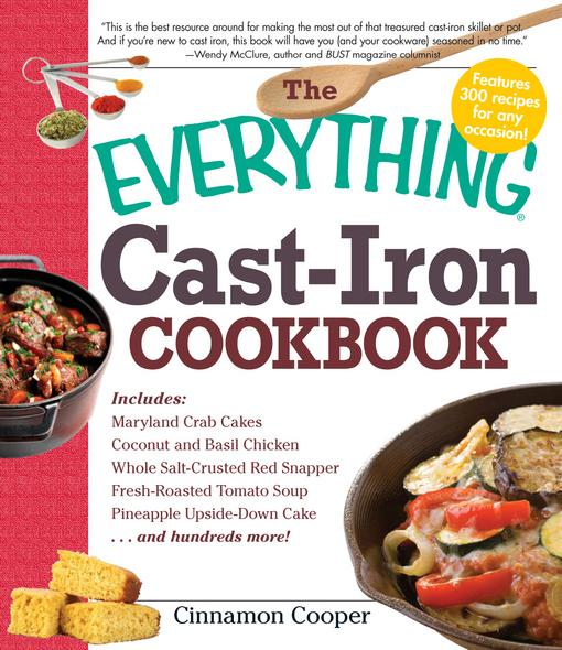The Everything Cast-Iron Cookbook EB9781440508356