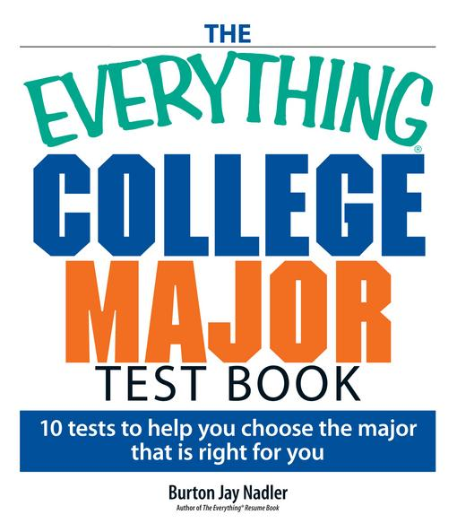 The Everything College Major Test Book EB9781440523847