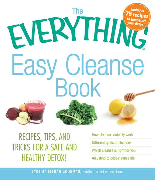 The Everything Easy Cleanse Book EB9781440525483