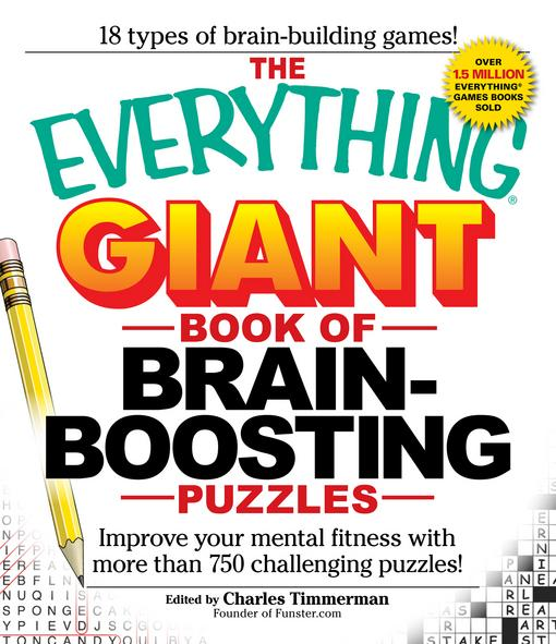 The Everything Giant Book of Brain-Boosting Puzzles EB9781440503436