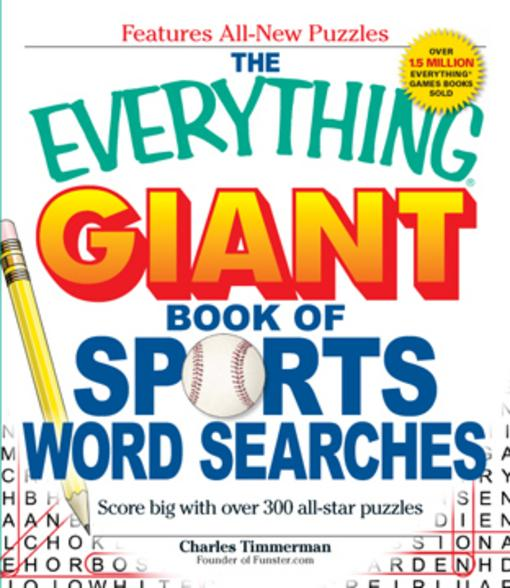 The Everything Giant Book of Sports Word Searches EB9781440500046