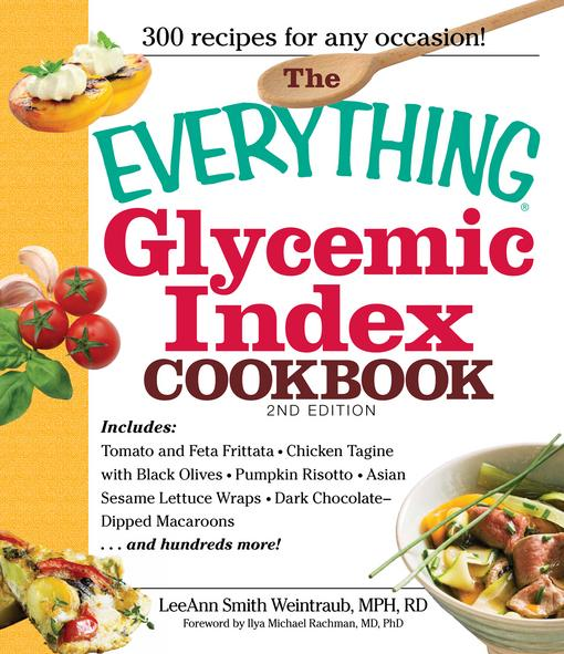 The Everything Glycemic Index Cookbook, 2nd Edition EB9781440509360