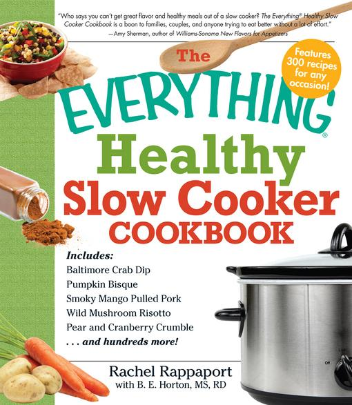 The Everything Healthy Slow Cooker Cookbook EB9781440502323