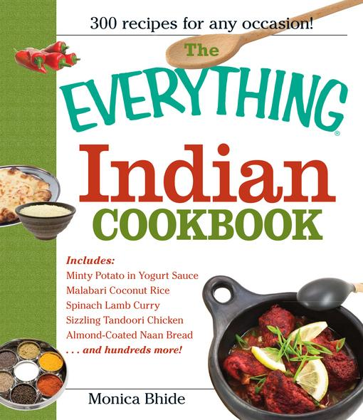 The Everything Indian Cookbook EB9781440522857