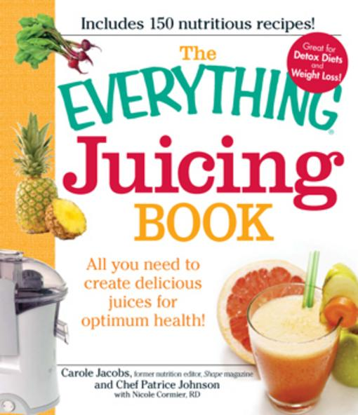 The Everything Juicing Book EB9781440503276