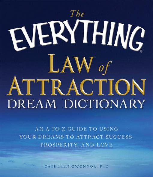 The Everything Law of Attraction Dream Dictionary EB9781440504679