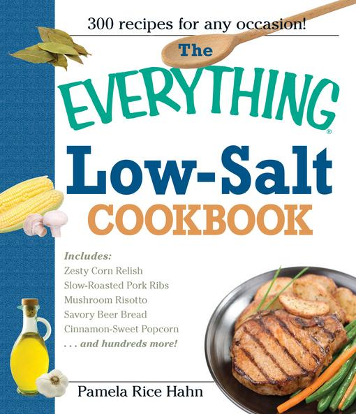 The Everything Low Salt Cookbook Book EB9781440522871