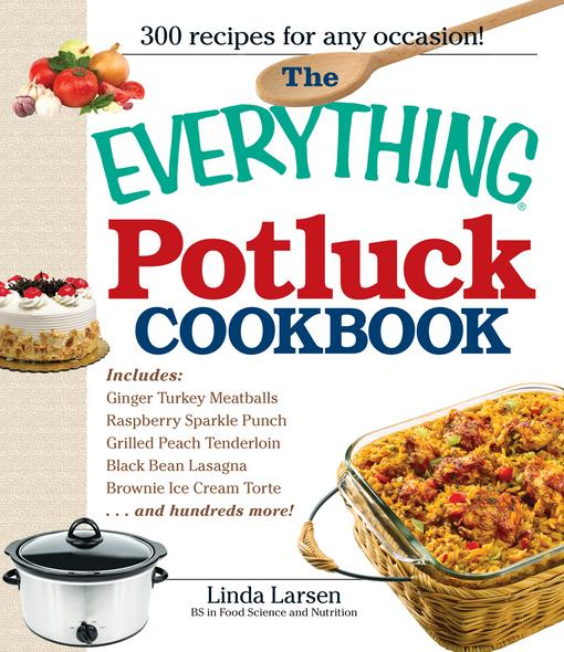 The Everything Potluck Cookbook EB9781605506937