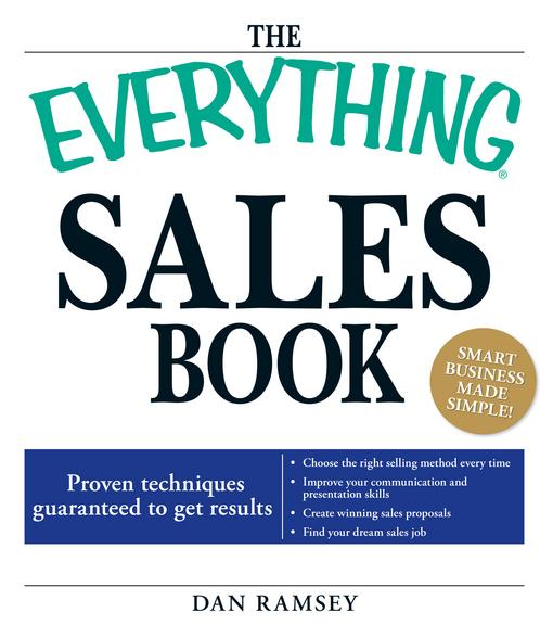 The Everything Sales Book EB9781605507439