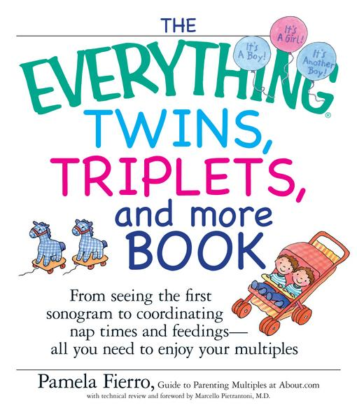 The Everything Twins, Triplets, And More Book EB9781440523212