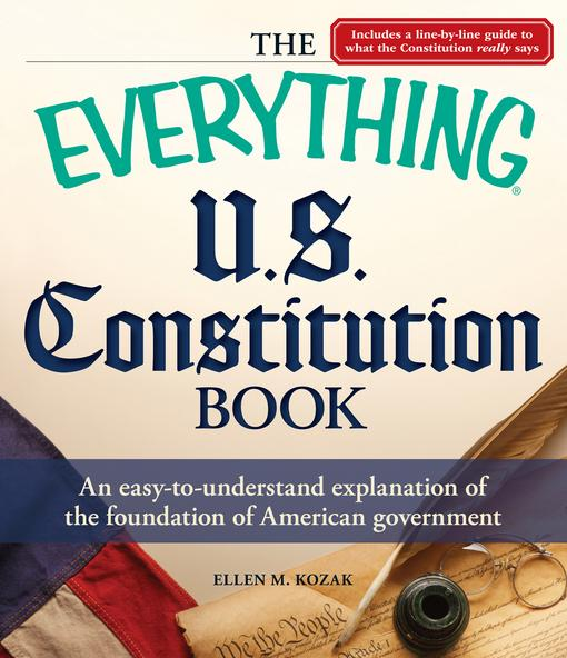 The Everything U.S. Constitution Book EB9781440525629