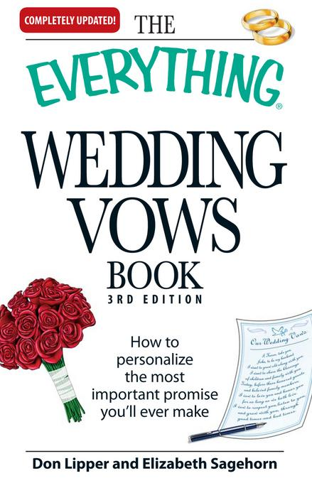 The Everything Wedding Vows Book EB9781440522123