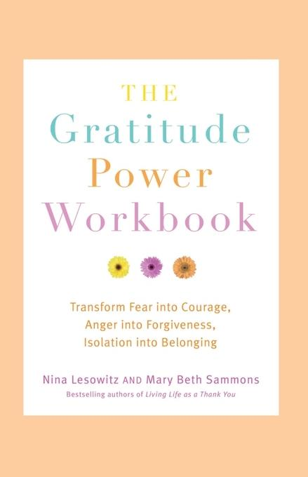 The Gratitude Power Workbook: Transform Fear into Courage, Anger into Forgiveness, Isolation into Belonging EB9781573446709