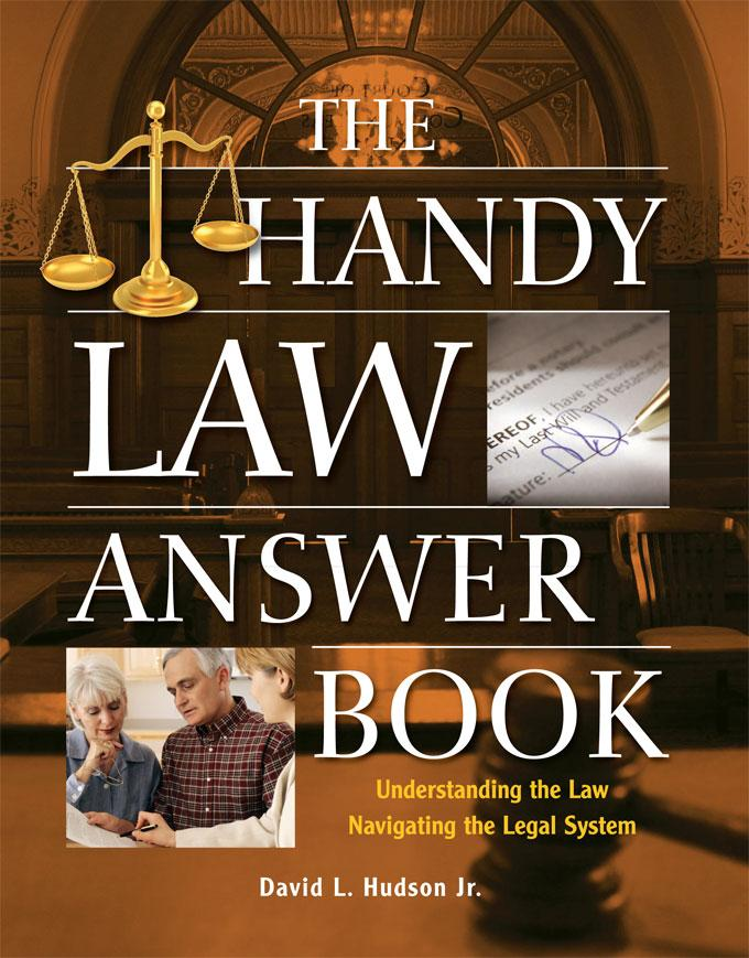 The Handy Law Answer Book EB9781578593354