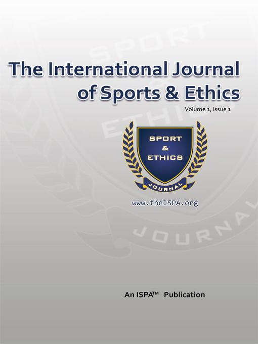 The International Journal of Sports & Ethics EB9781456765316