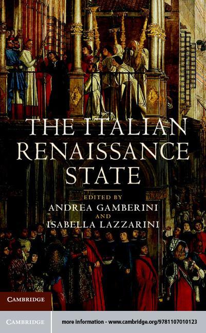 The Italian Renaissance State EB9781139368797