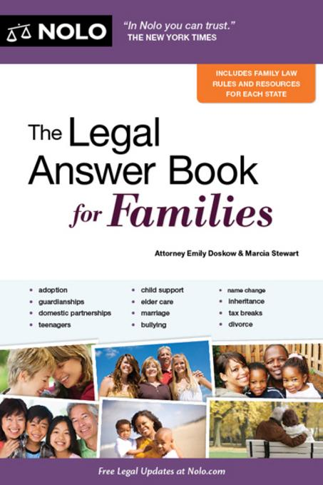 The Legal Answer Book for Families EB9781413315943
