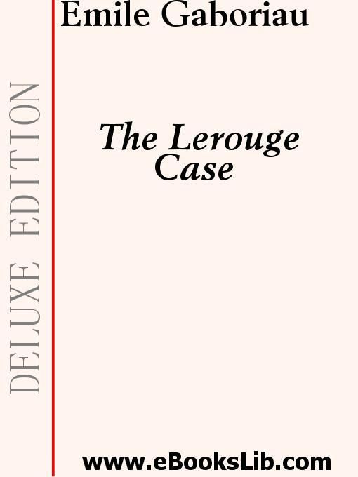 The Lerouge Case EB9781554430246