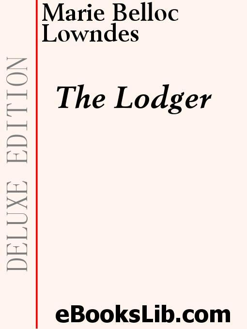 The Lodger EB9781554452149