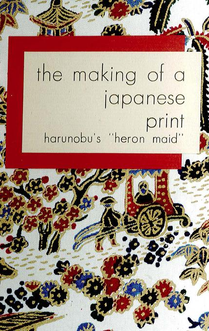 The Making of a Japanese Print: Harunobu's
