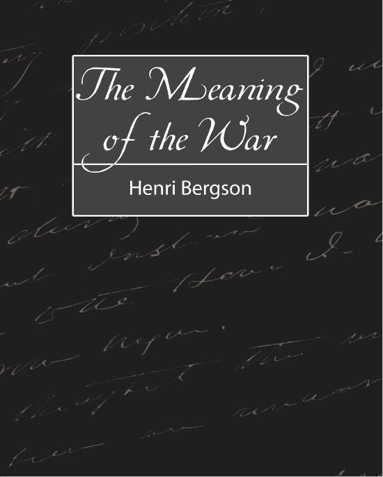 The Meaning of the War EB9781438556635