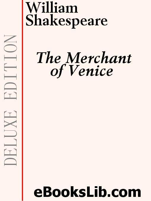 The Merchant of Venice EB9781554450978
