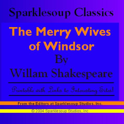 The Merry Wives of Windsor (Sparklesoup Classics) EB9781597487337