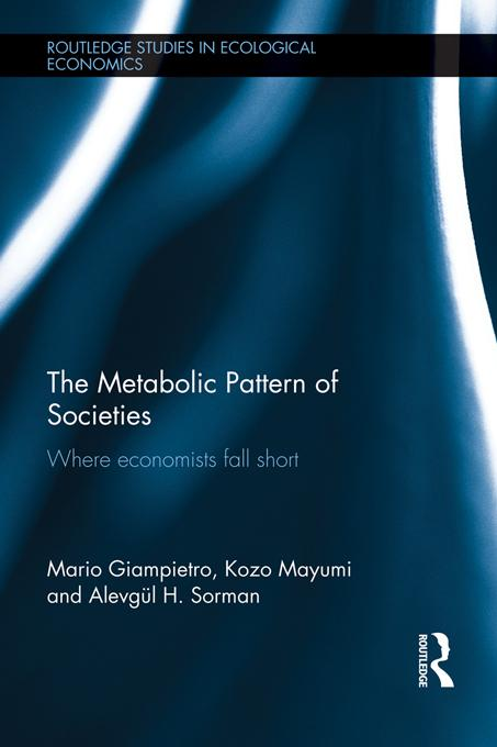 The Metabolic Pattern of Societies EB9781136619939