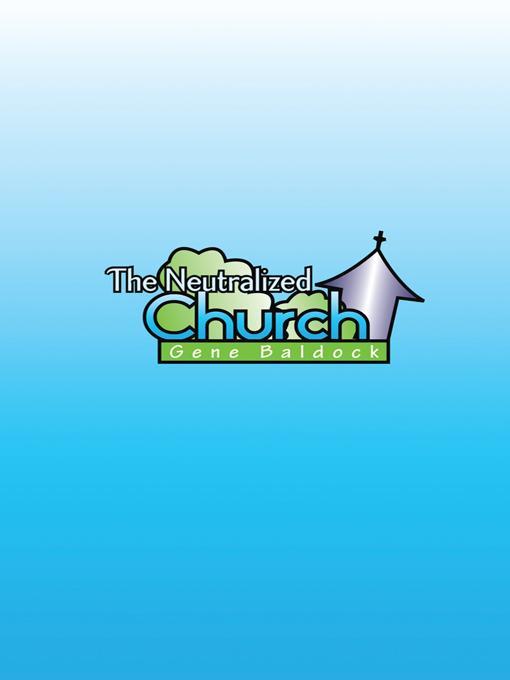 The Neutralized Church EB9781426959226