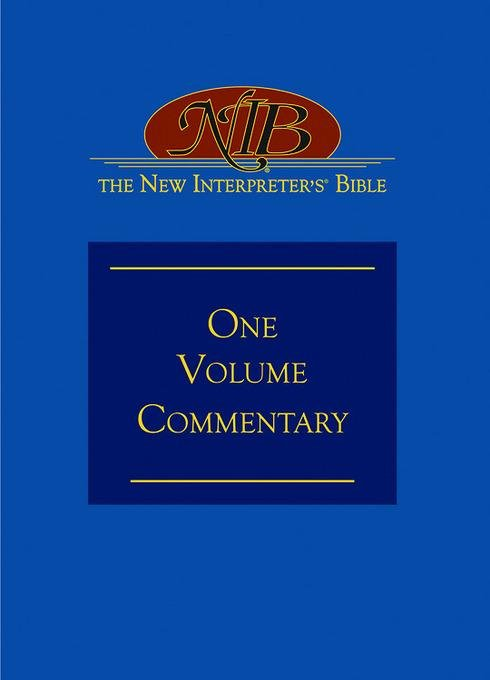 The New Interpreter's? Bible One-Volume Commentary EB9781426735509