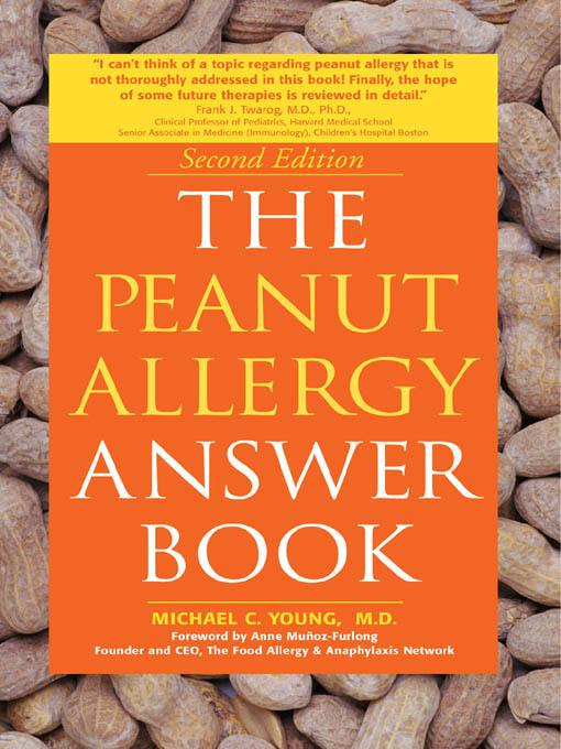 The Peanut Allergy Answer Book EB9781616734183