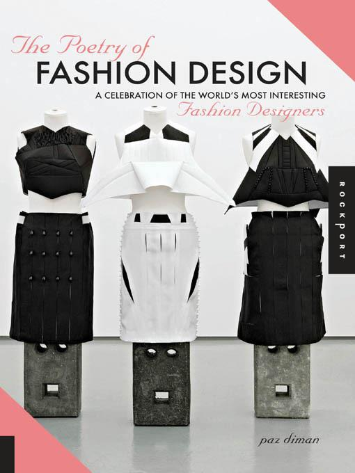 The Poetry of Fashion Design EB9781610602303