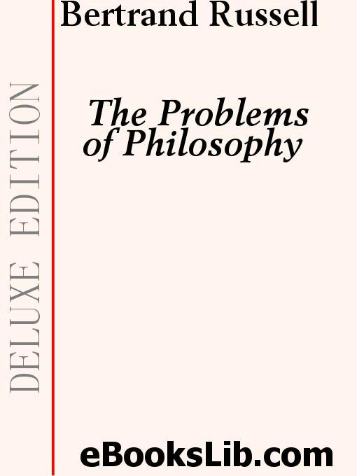 The Problems of Philosophy EB9781554452712