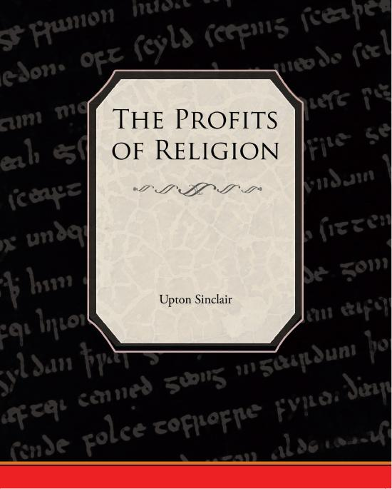 The Profits of Religion EB9781438585932