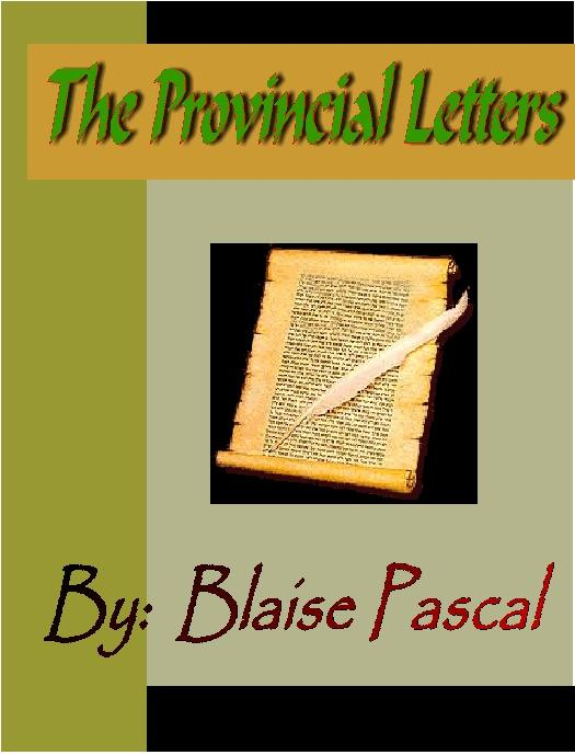 The Provincial Letters EB9781932681826
