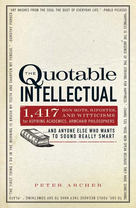 The Quotable Intellectual EB9781440508011